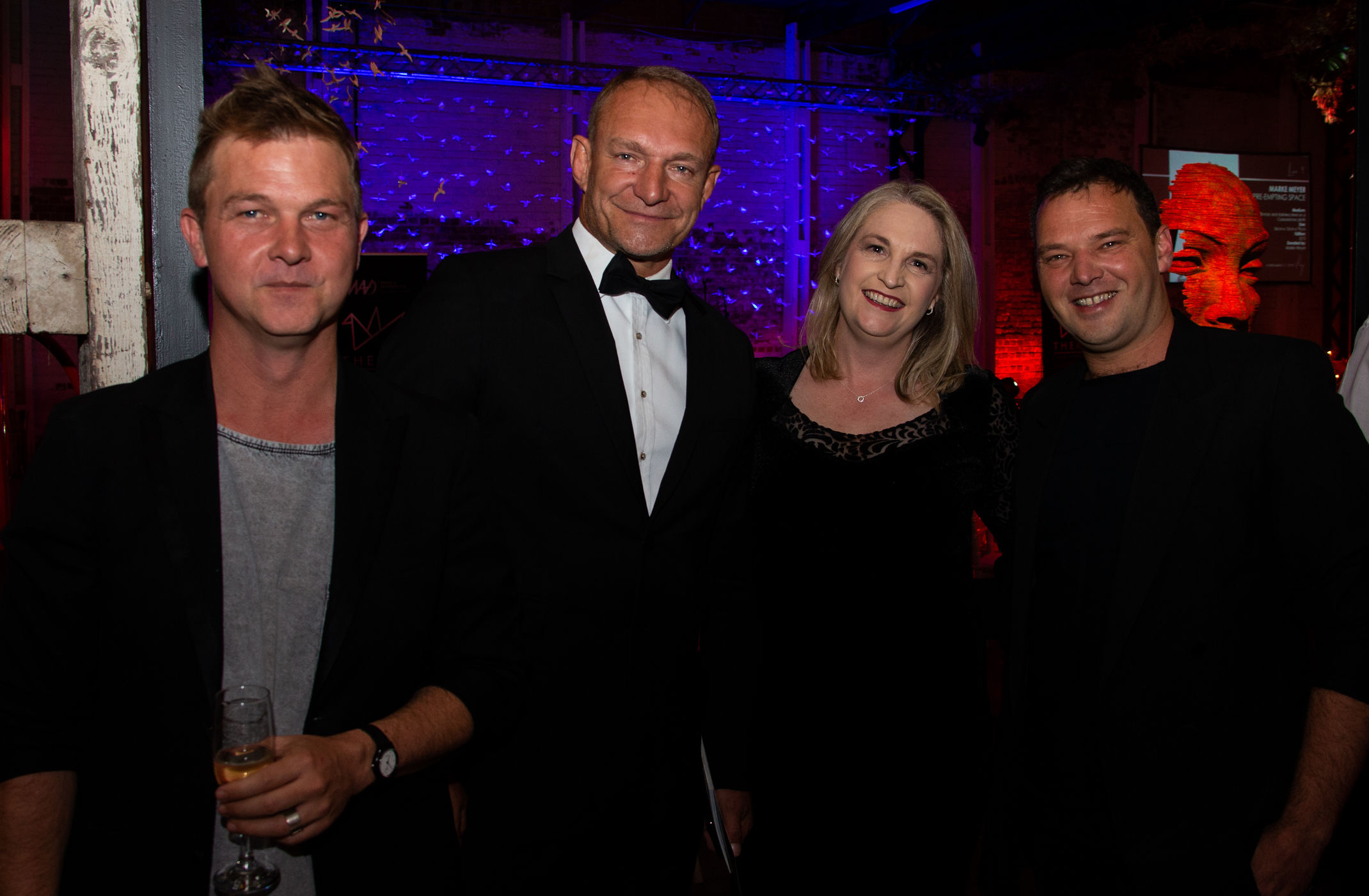 Pictured from left to right, Daniel Swanepoel (Rialheim CEO), Francois Pienaar (MAD Leadership Foundation Founder and Chairman), Helette Pieterse (MAD Leadership Foundation CEO), Rial Visagie (Rialheim Creative Director).