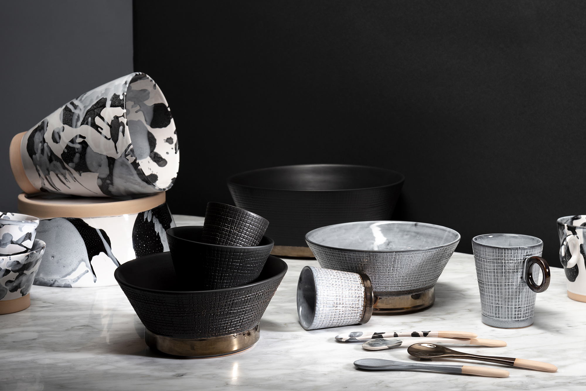 Tableware jewellery - the new collection by Rialheim for @home