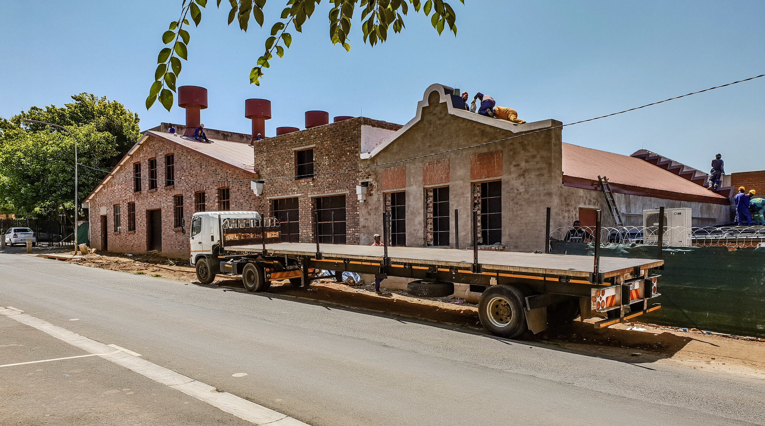 Rand Steam restoration in progress - The Moolman Group restored the site to its former glory.