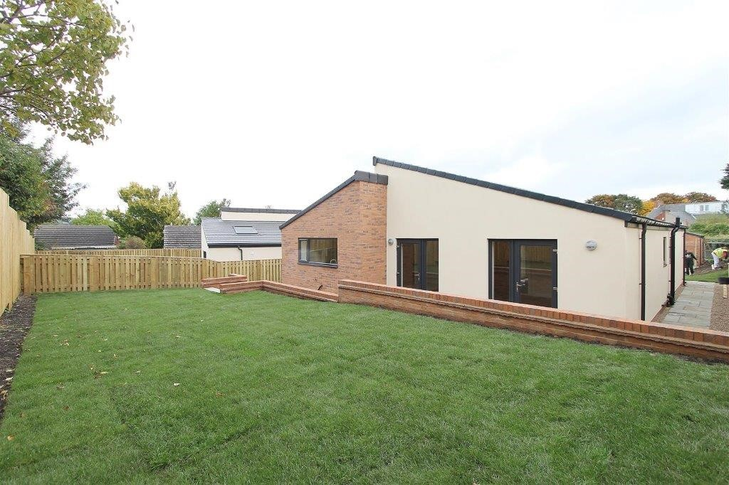 AN A-ROCK DEVELOPMENT OF 2 MODERN BUNGALOWS IN DUNSTON, CHESTERFIELD