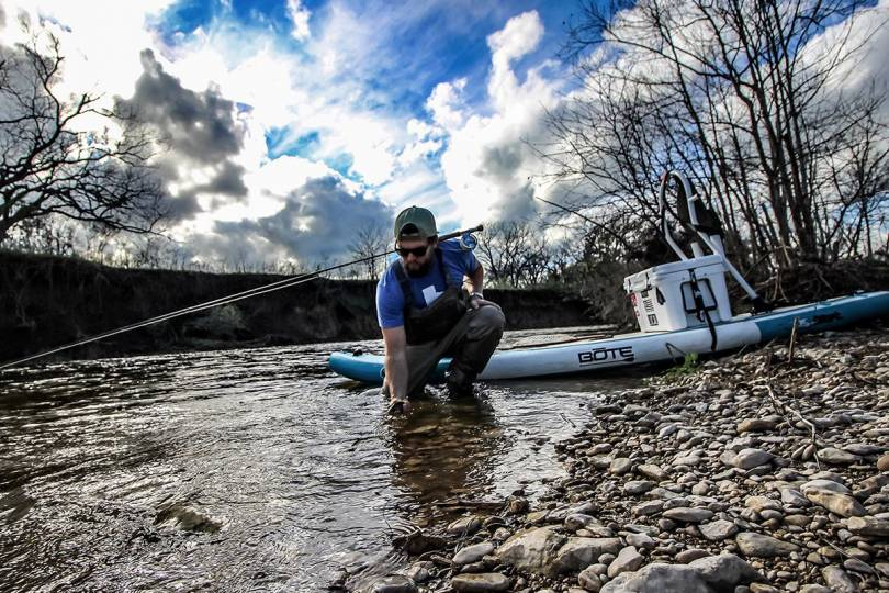 Hit the River on SUP Boards or Boats -