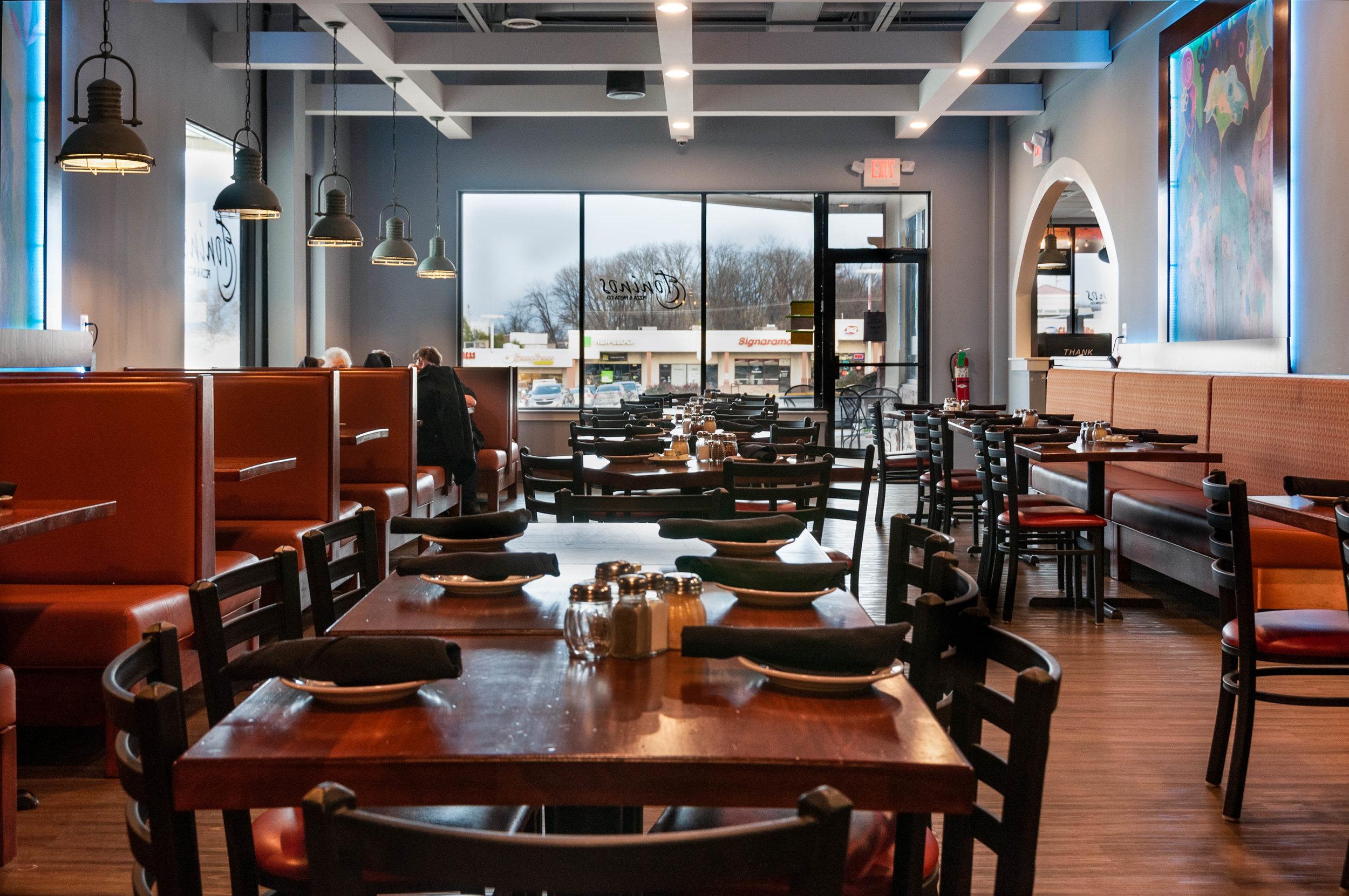 Toninos Pizza & Pasta Malvern Pa - Expanded Dinning Room.jpg