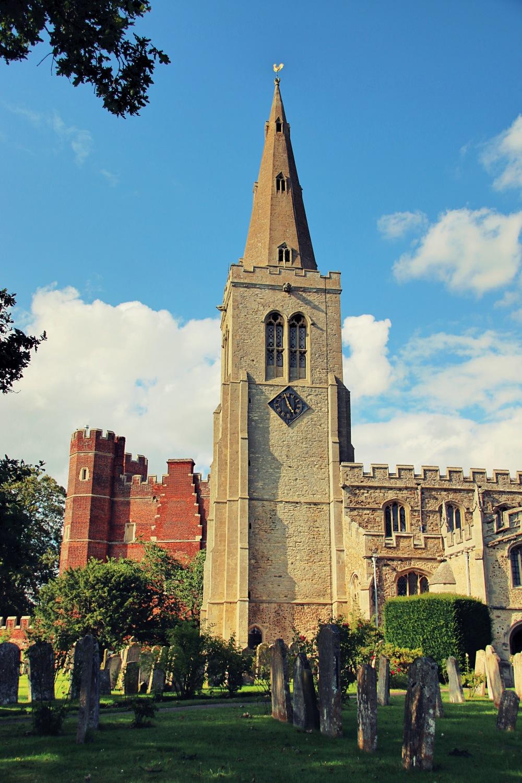 Buckden Towers in Buckden England