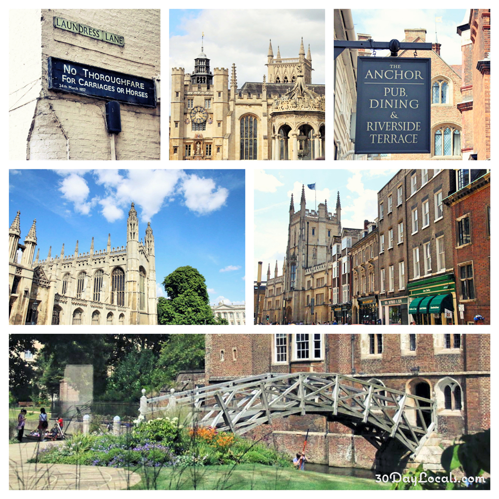 Advice for Visiting Cambridge, England - 30 Day Locals