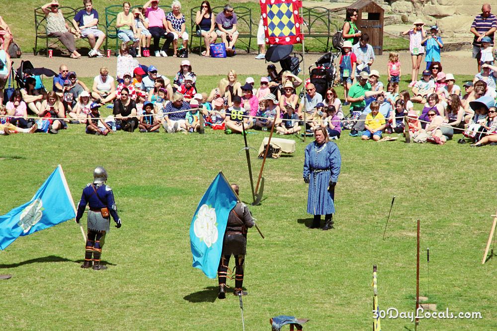 Warwick Castle Sword Fighting