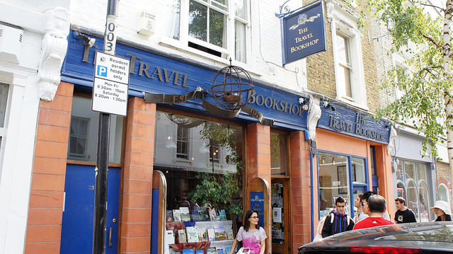 Notting Hill Travel Bookshop