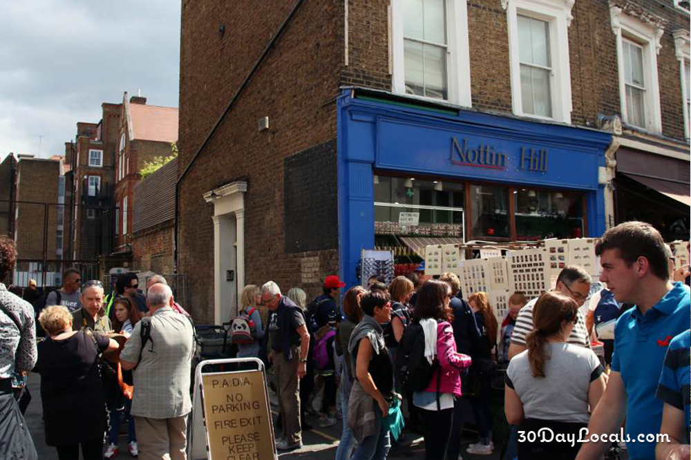 Notting Hill Travel Bookshop Movie Tour