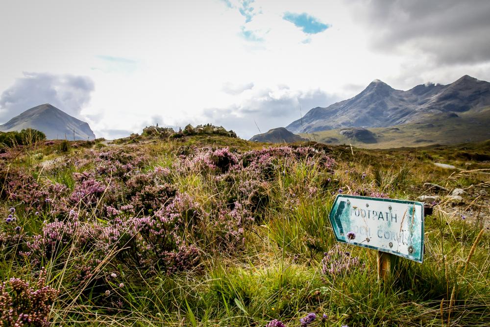 Footpath Scotland Isle of Skye