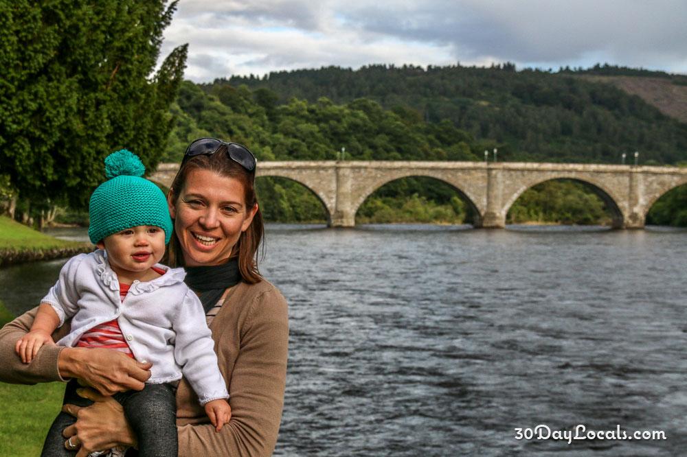 Dunkeld Scotland Bridge