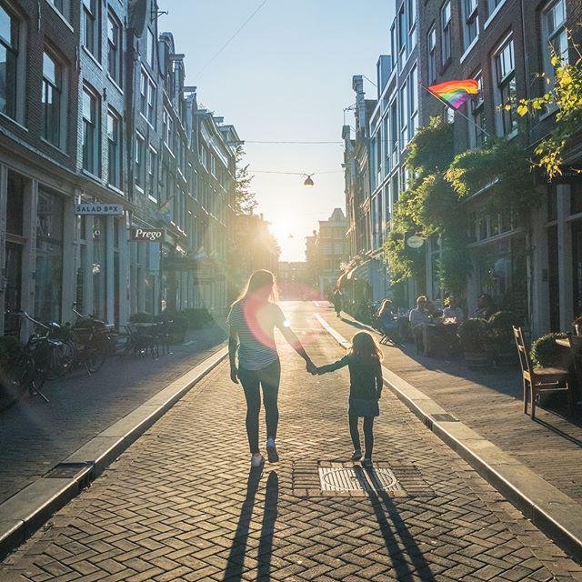 Goodbye for now Amsterdam. We loved our visit to your beautiful city! . . . . . #amsterdam🇳🇱 #travelamsterdam #iamsterdam #visitamsterdam #amsterdamgram #amsterdamtrip #amsterdamstyle #travelwithus #traveleurope  #travelfamily #travelwithkids #familytravelblog  #kidswhoexplore #familytravel #capturethemoment #familyadventure #travelkids #kidtraveler #citiesoftheworld #familieswhotravel #summerineurope #mytinyatlas #lifewelltraveled #welivetoexplore #girlswhotravel #openmyworld #theprettycities #notgoodbyebutseeyoulater  #sunset🌅 #handinhand