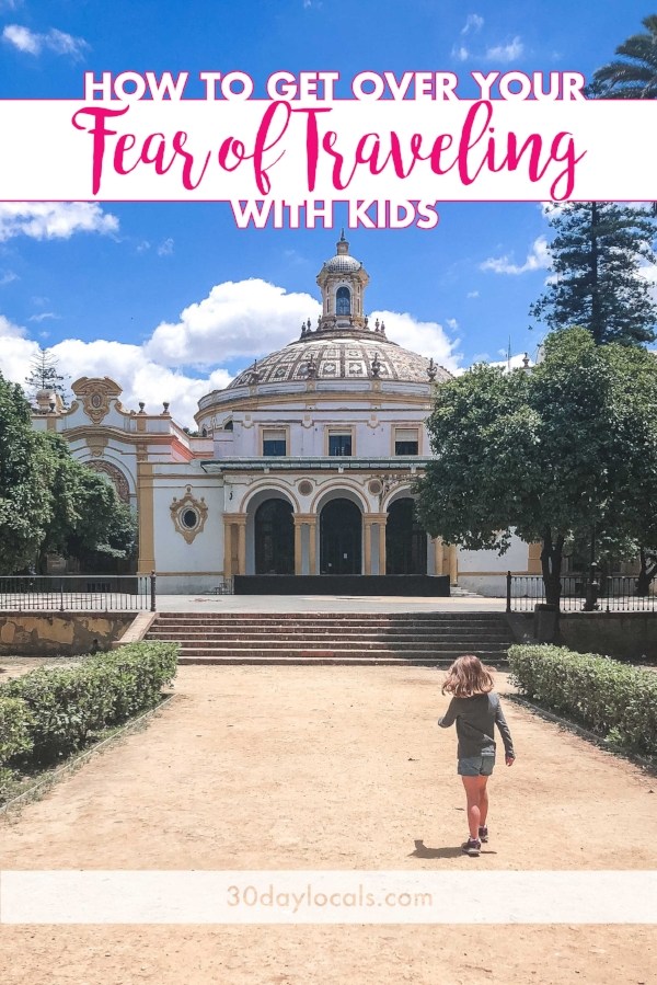 Want to go on an international trip for your next family vacation, but you're afraid to travel with kids? Have no fear! These 5 reminders will help you get over your fear of traveling with kids so you can get out and explore the world together.