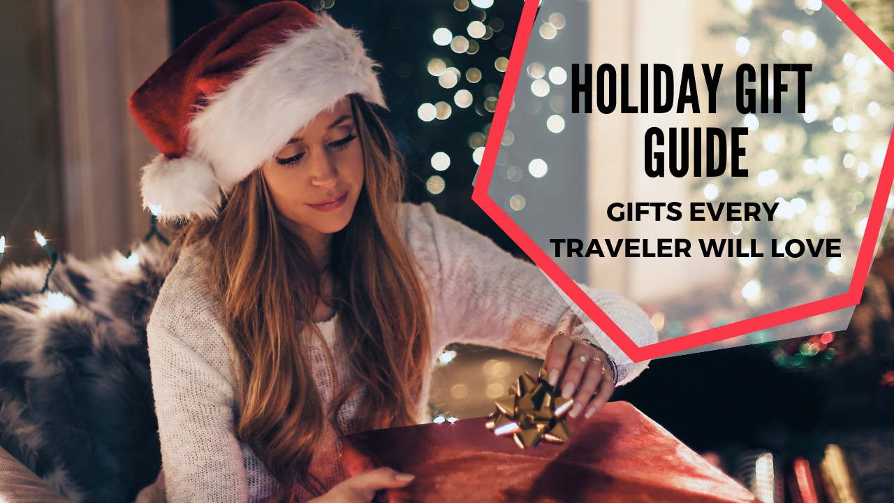 Holiday Gift Guide: Top Ideas for Travel Enthusiasts. These are the things they actually want and need. #holidaygift #giftguide #travel
