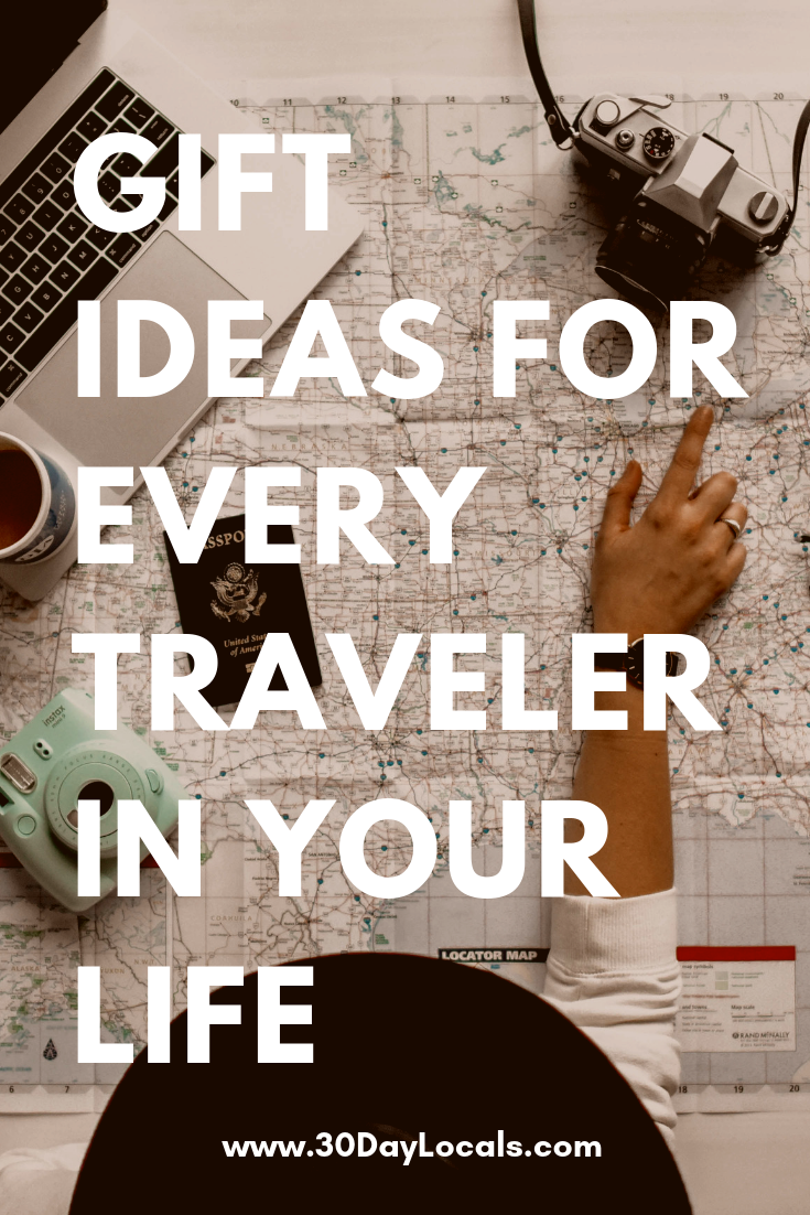 Gift ideas for every traveler you know and love. See what gifts they will love that will actually make it into the suitcase.
