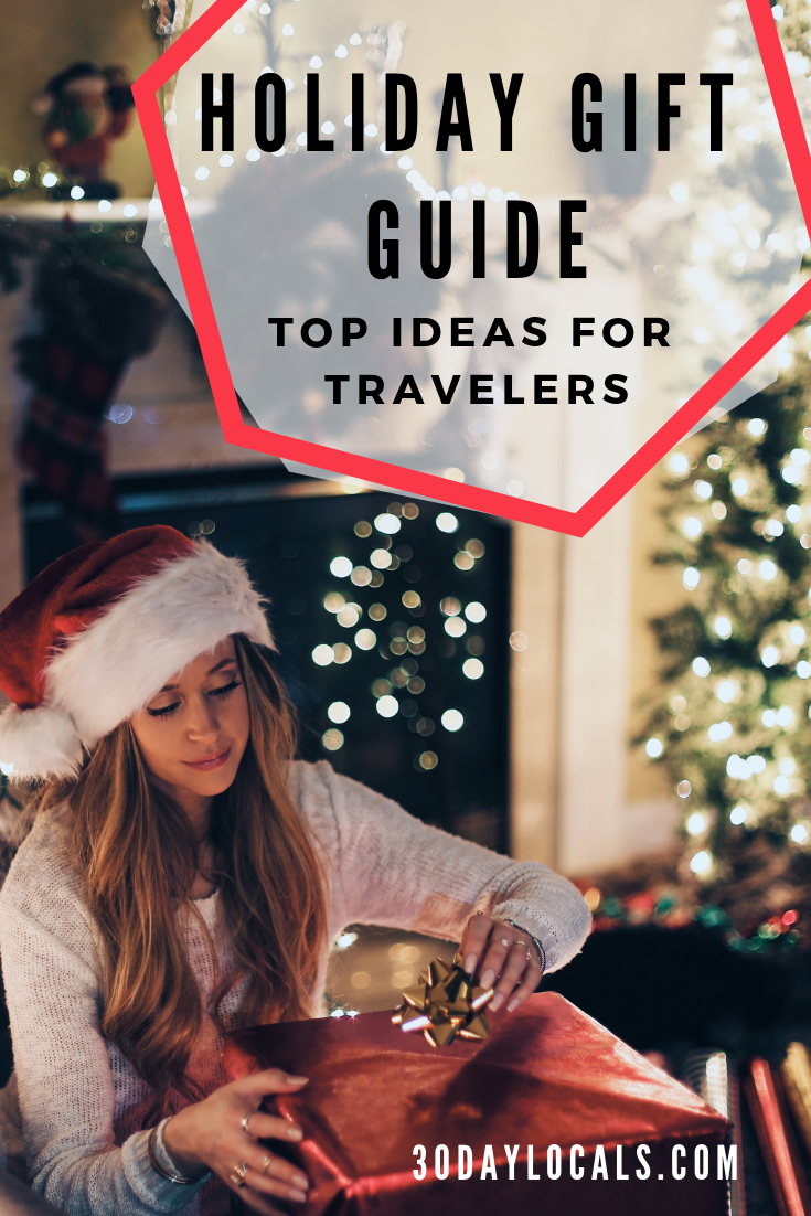 Holiday Gift Guide: Top Gift Ideas For Travel Enthusiasts. These are the things they actually want and need. #holidaygift #giftguide #travel