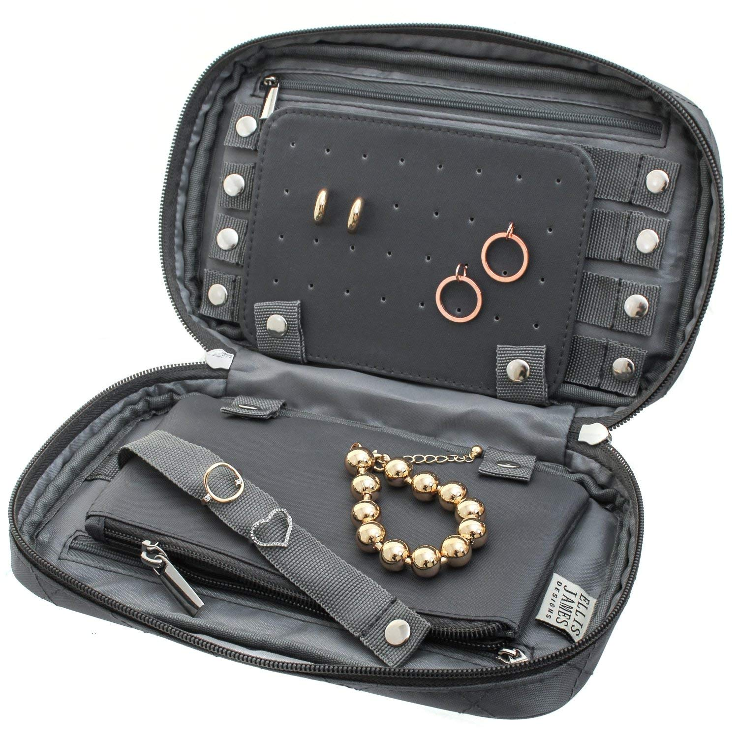 Holiday gift guide for women who love to travel: Portable Jewelry Organizer