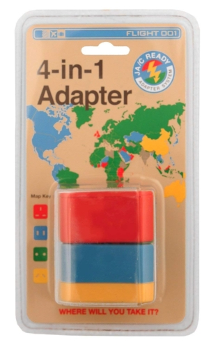 Awesome holiday gift ideas for travelers who love tech - universal power adapter