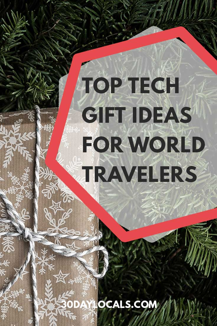 Top Tech Gift Ideas for World Travelers: These are the holiday gifts tech-lovers who travel actually want. #holidaygifts #holiday #christmasgift #giftidea #giftguide