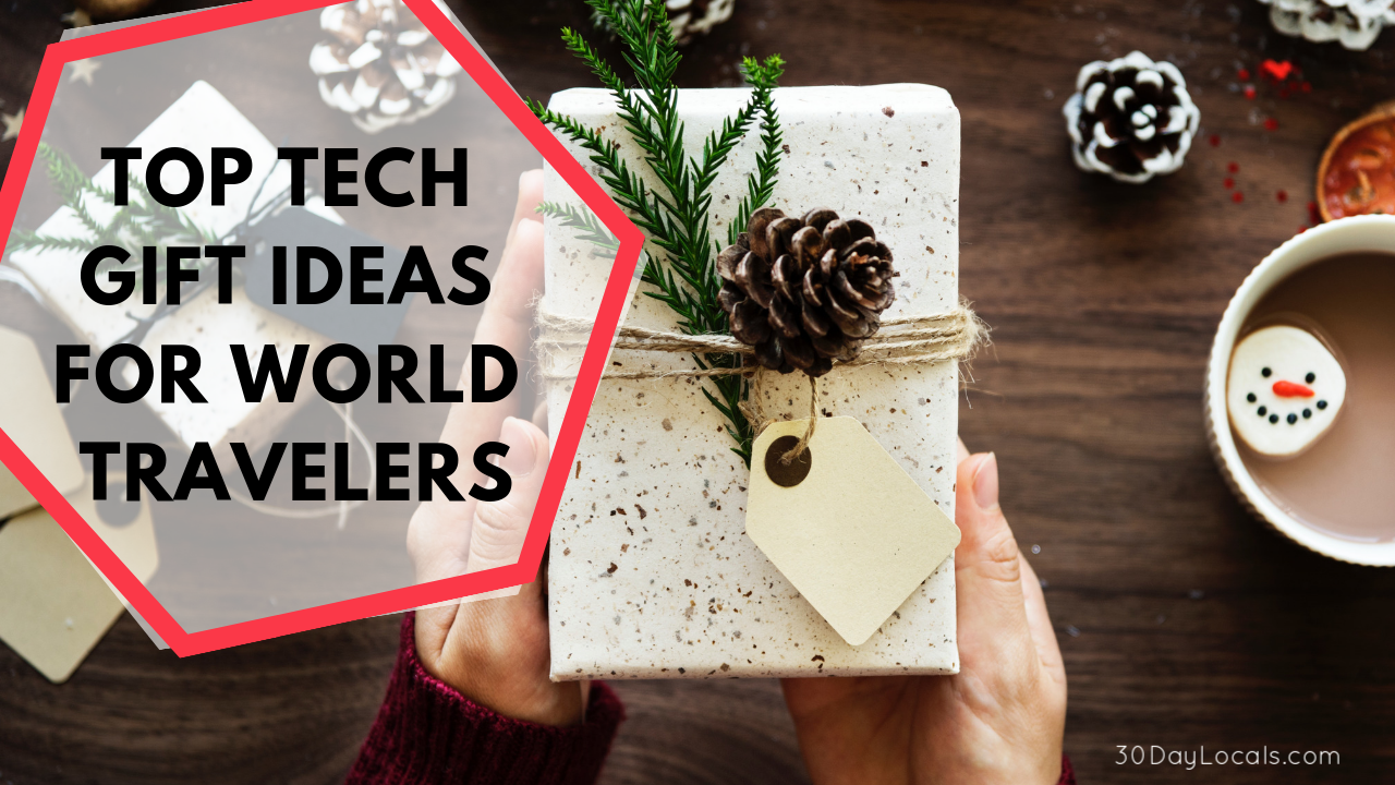 Looking for holiday gift ideas for a traveler who loves tech? These are the top gift ideas that your tech-loving traveler actually wants this year. We've even added a few to our Christmas list! Which one is your favorite