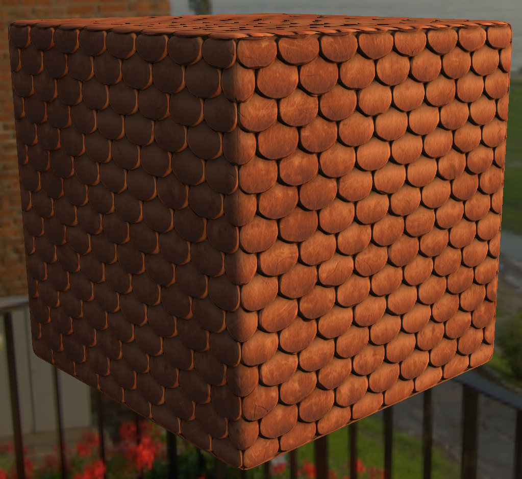 Roof Material in Substance Designer