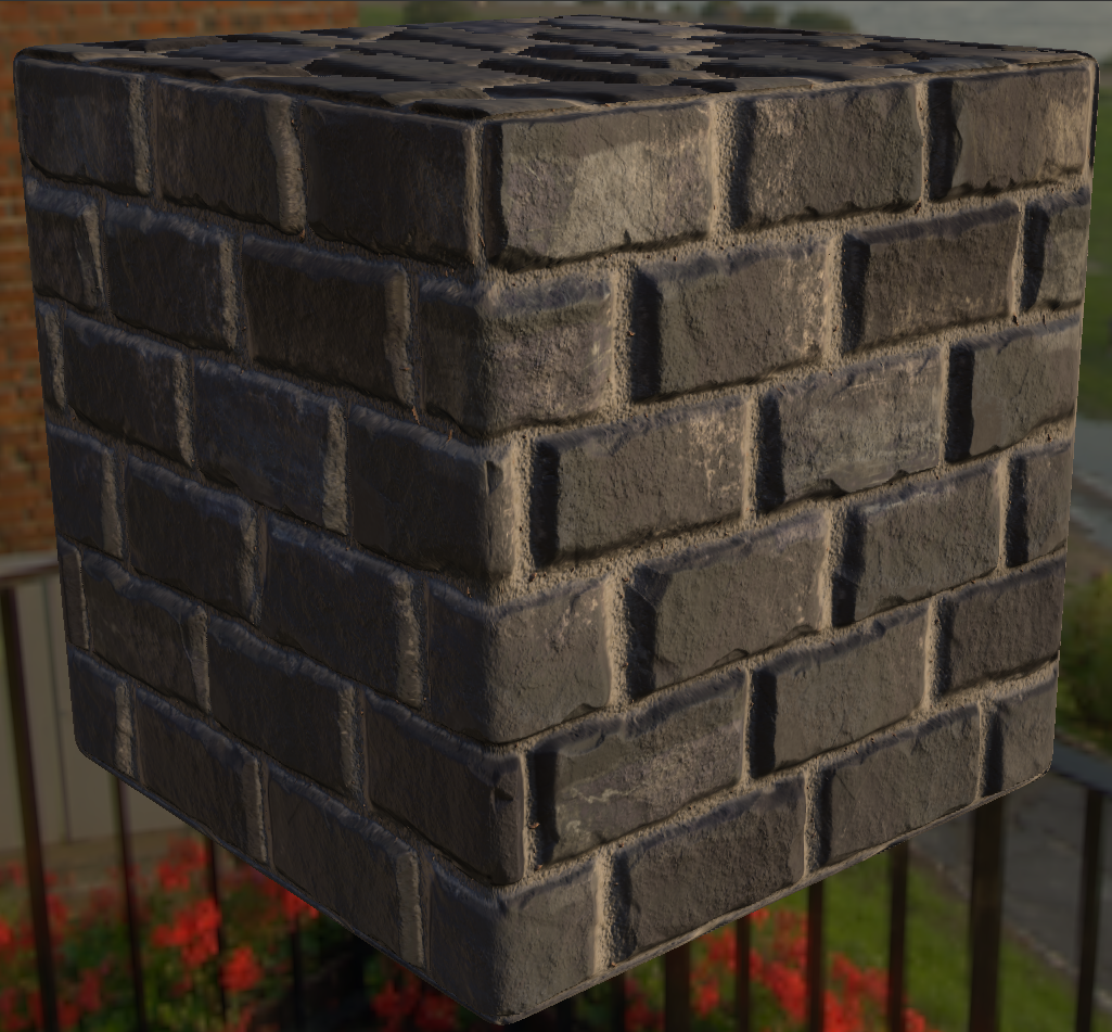 Stone Brick Material in Substance Designer