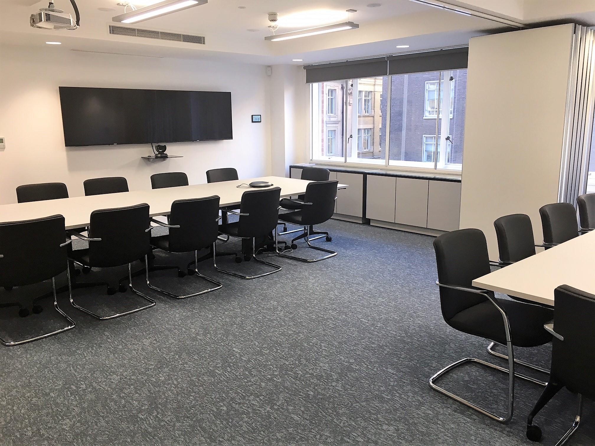 ElectraLink Split Meeting Room