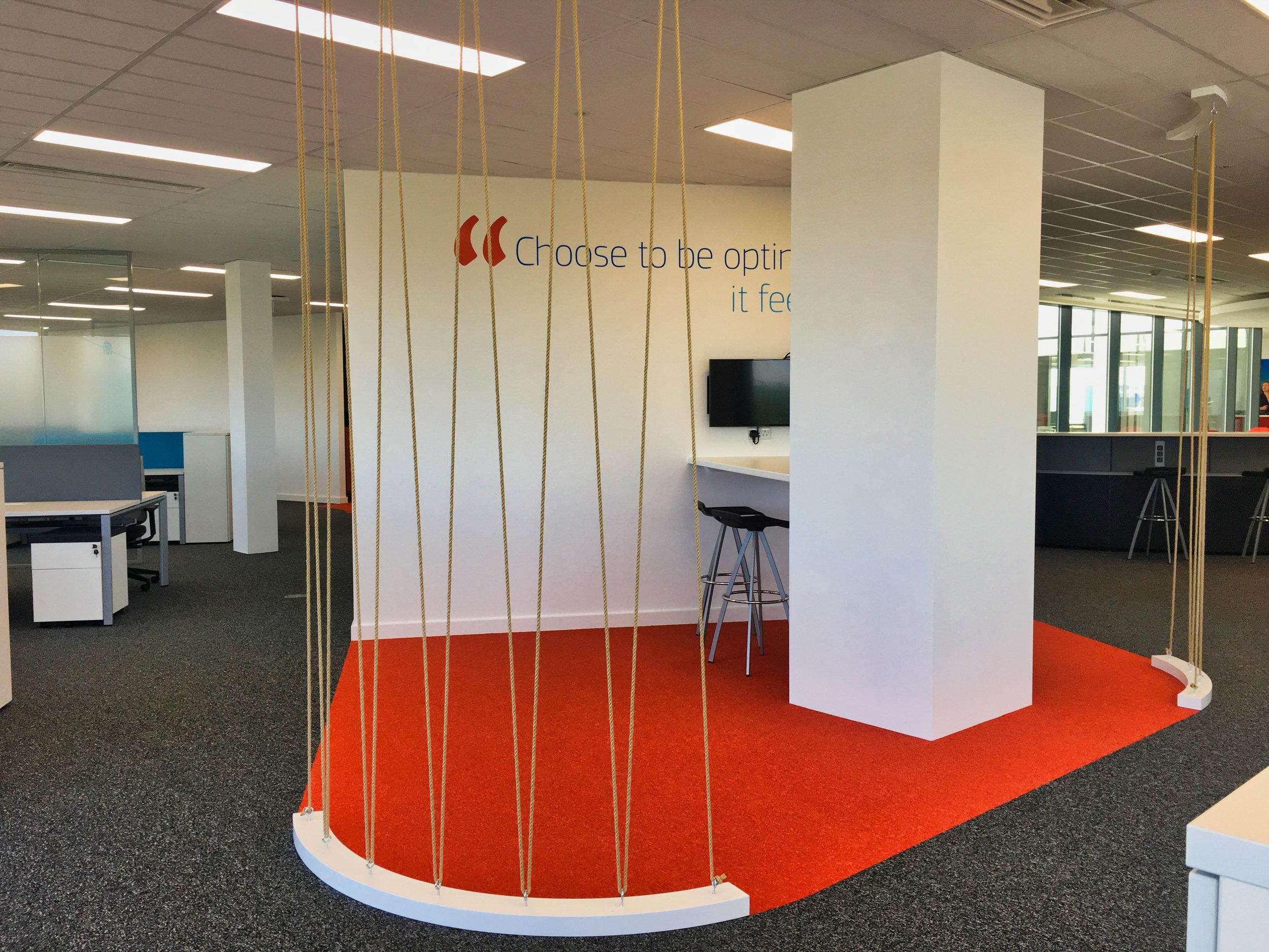 Amadeus Casual Meeting Space