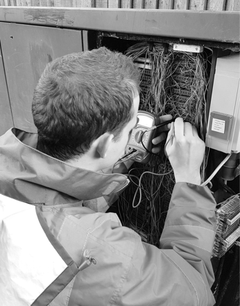 Laurence -  Support Engineer  An ex-network engineer, Laurence is our in-house  Zoom  specialist, and enjoys delivering unique solutions for our clients.