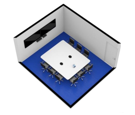 Large Room - Deploy upgraded audio systems with multiple displays.From £5,495 + VAT