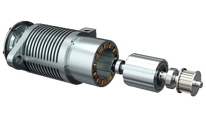 Der E1 Motor - Der leistungsstarke und ultrakompakte E1-Motor definiert das Design von Elektromotoren neu. Jede Komponente ist exakt darauf ausgelegt, dass das gesamte System intelligenter und effizienter funktioniert.