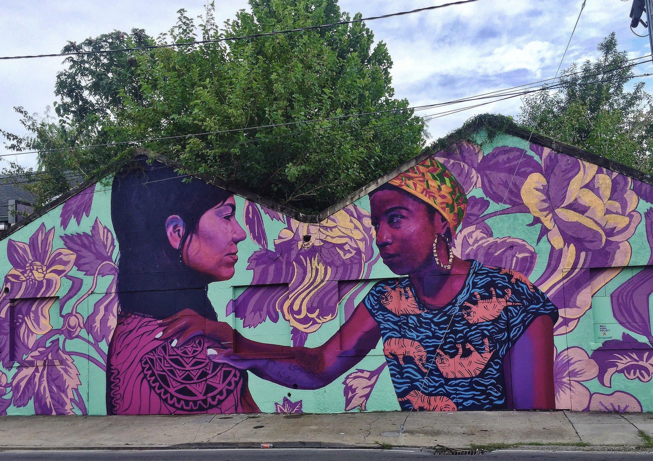 Mural by @craigcundiff, 2116 St. Claude Avenue