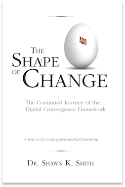 The second book examines the shared experiences districts face as they enter Stages 4 and 5 of the Digital Convergence Framework identifies patterns among districts that drive and inhibit progress, and it explores the ways districts can use the Framework to gain insight and overcome any barriers.    Find it on Amazon