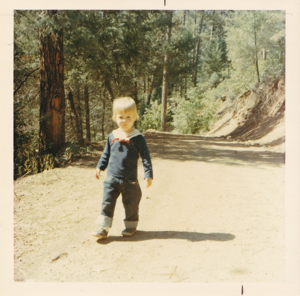 me at the ranch. circa 1971