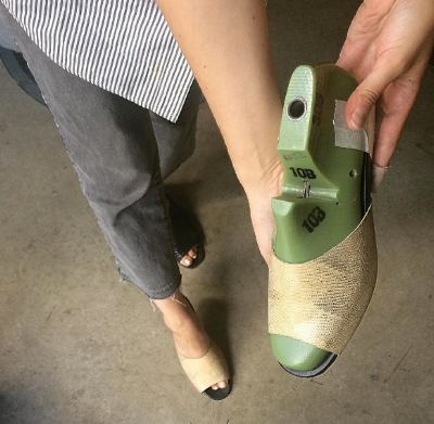 Custom handmade Lizard Slide with Lightweight EVA Platform