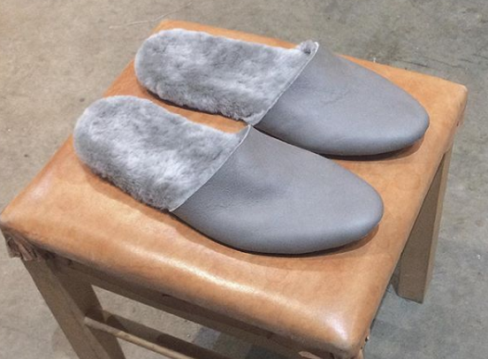 Shearling Slipper - Womens - Made in NYC