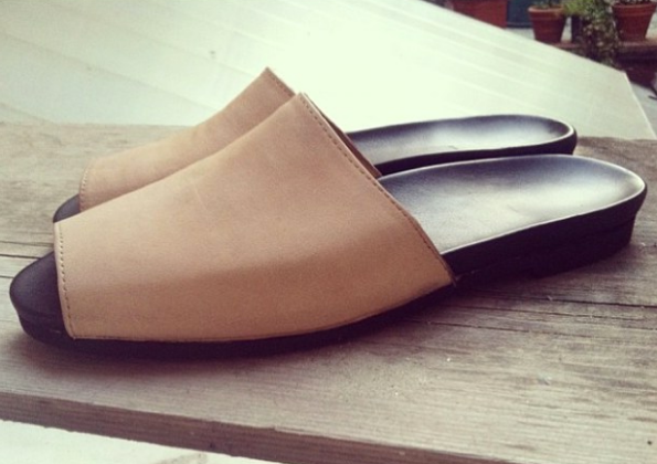 Simple Mule - Leather orthopedic slide - Made in Florence, Italy