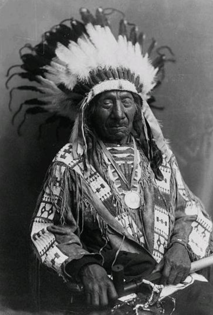Elder Red Cloud in the Wicasa Itancan   shirt