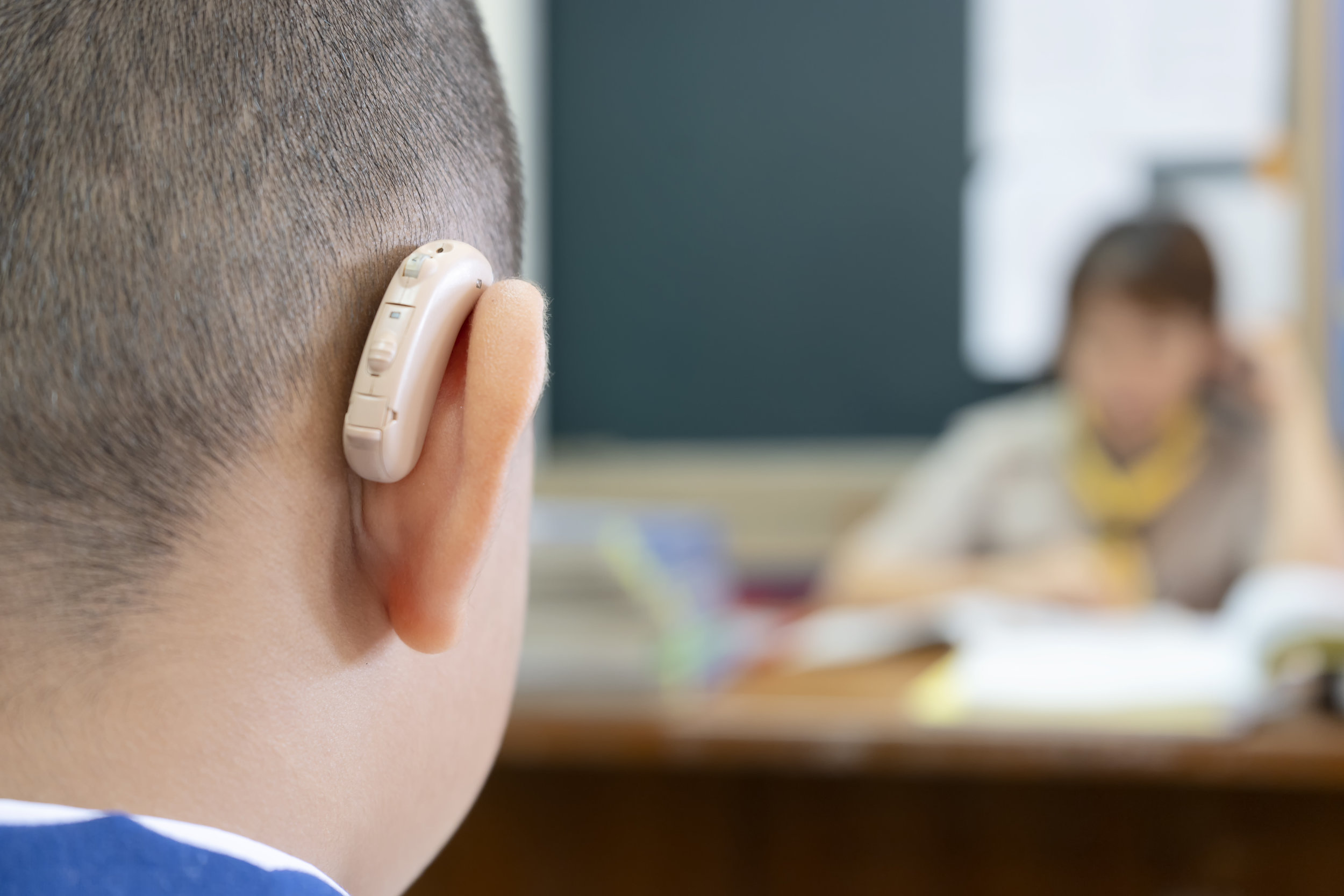 Are you concerned about your child's hearing? - If you are worried that your child isn't hearing everything they should be socially or academically—whether or not they wear hearing aids—then contact Sound Hearing Care to have your child's hearing checked.