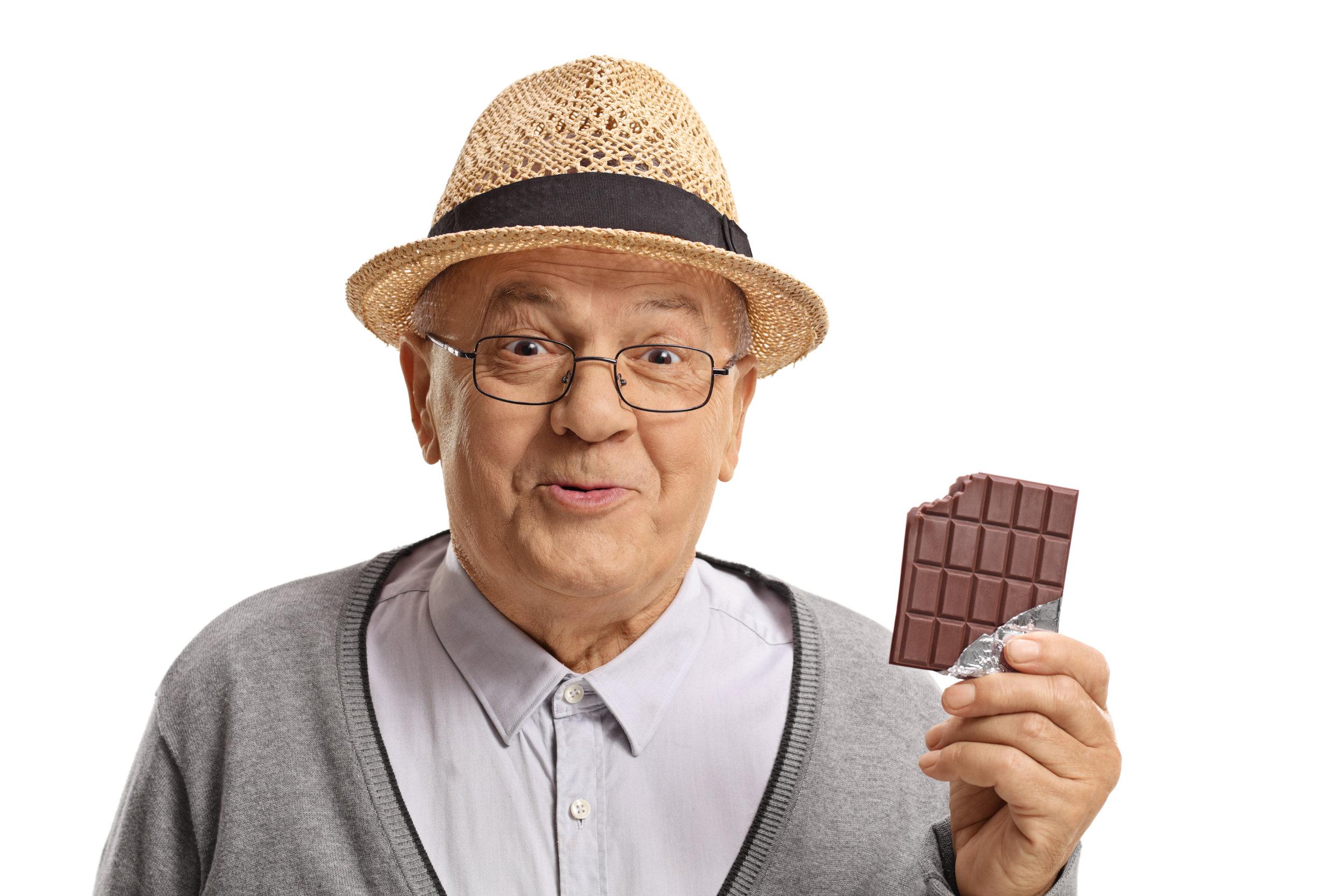 Mmm…chocolate! -