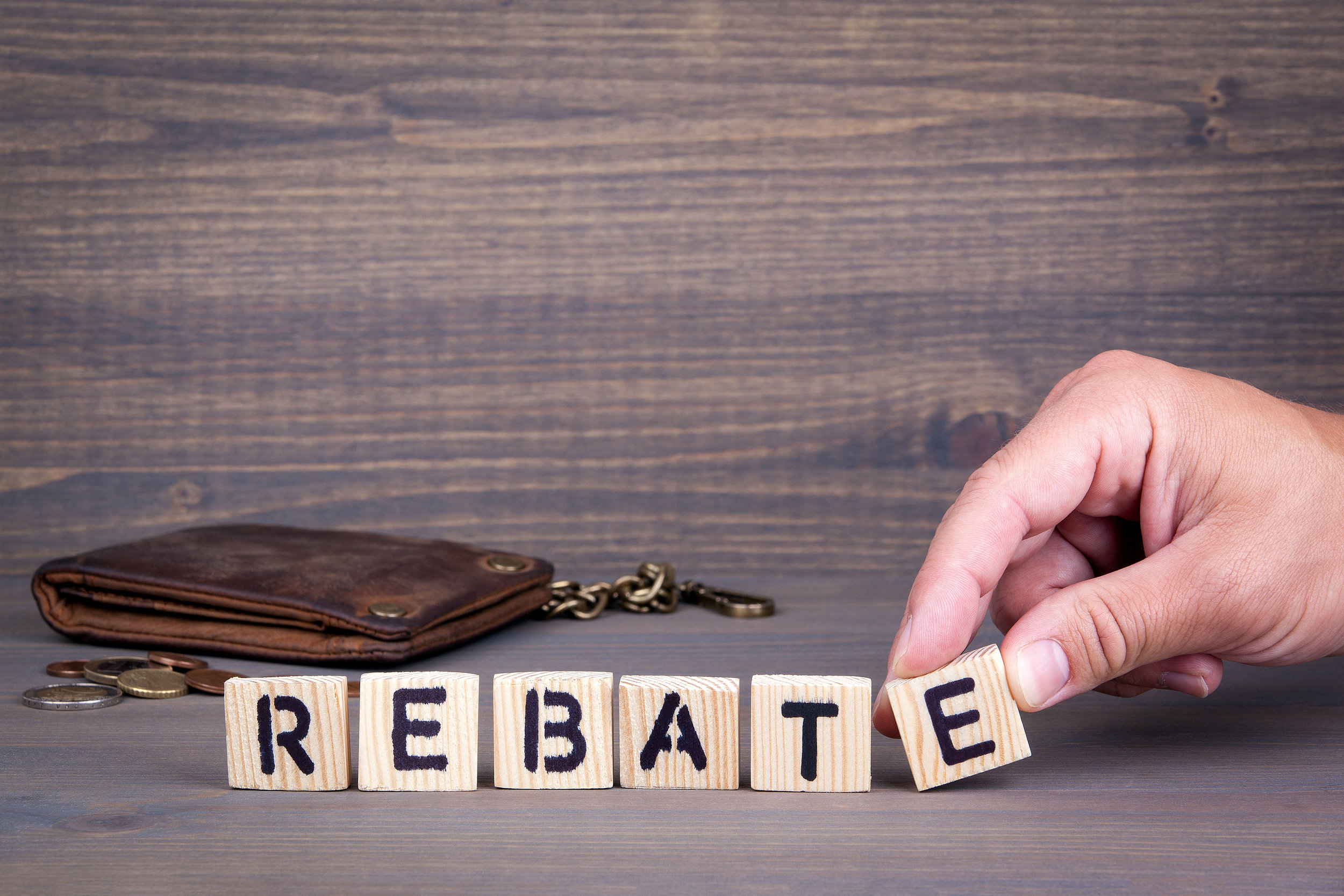 - Not sure if you qualify for a rebate or concerned you won't meet the requirements?