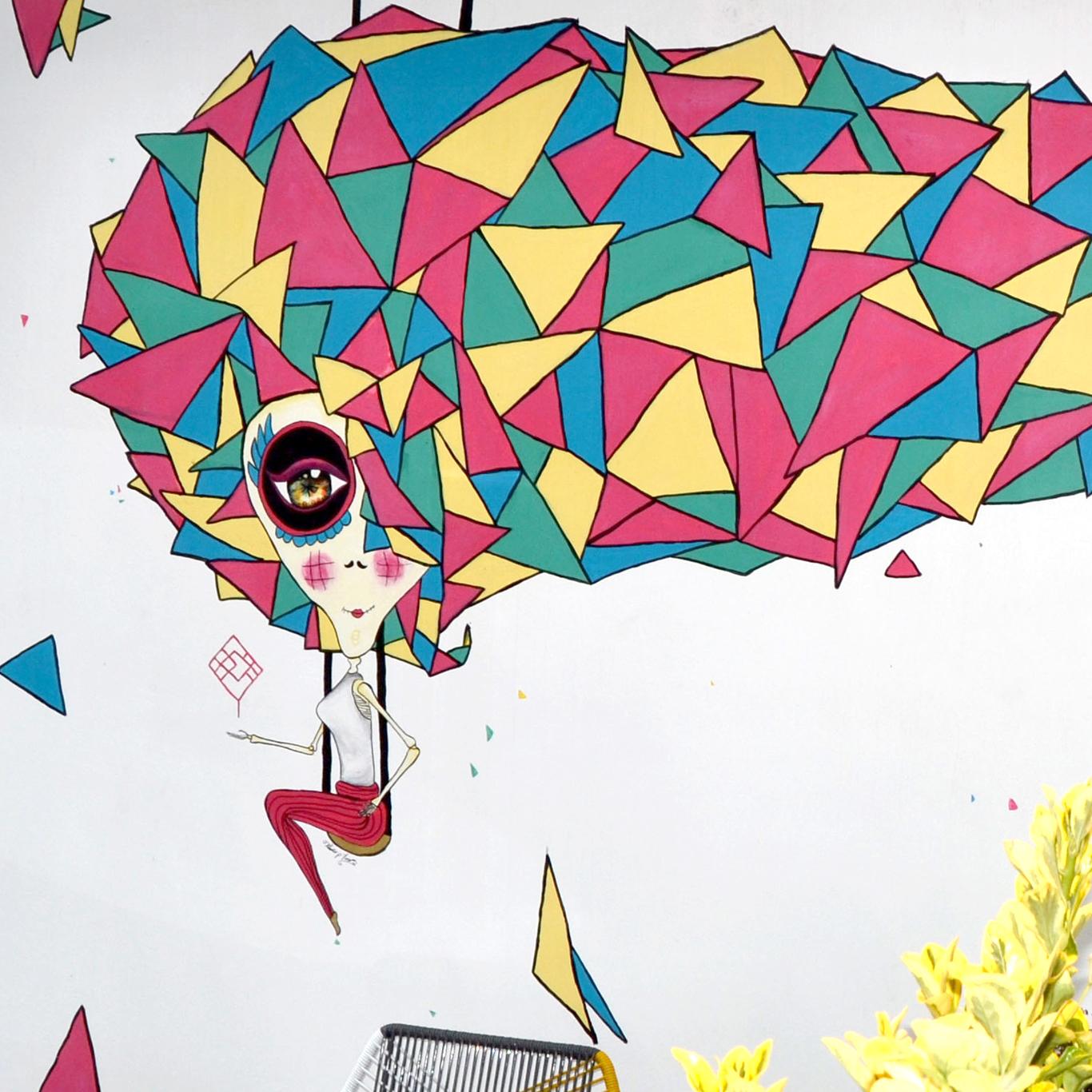 Murales y Arte urbano   Si tienes una pared blanca y quieres llenarla de vida y alegría, no dudes en contactarme ¡estaré encantada de llenarla de color!   Ver más..
