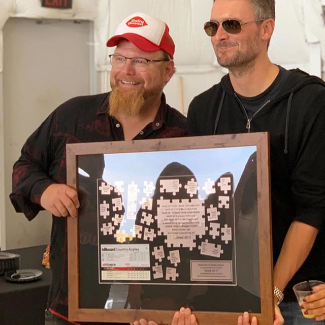 """Y'all... Our guy Bobby Pinson (Producer on my latest EP Boulder) sure has been on a roll of #1's lately!! Congrats on """"Some Of It"""" BP! We love you!"""