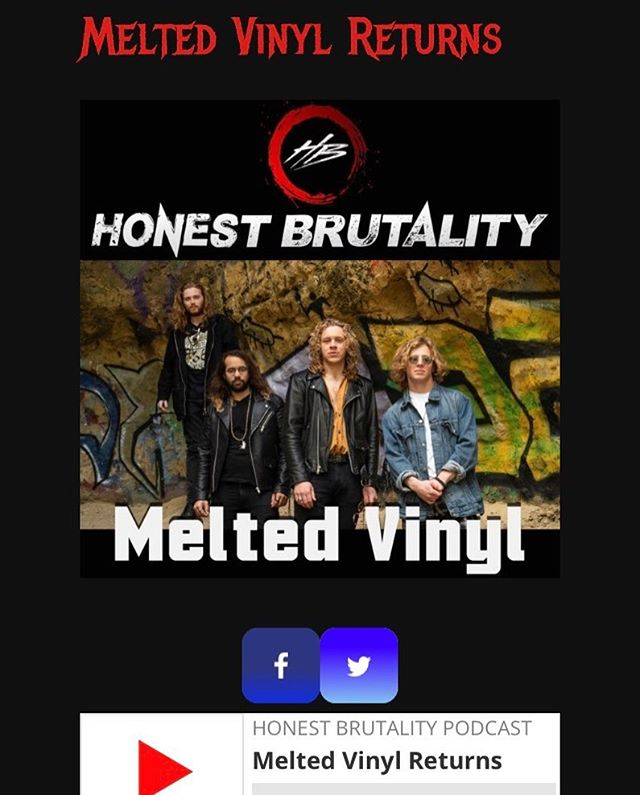 Listen to our interview @honestbrutality radio show. Link in our bio 🎙👊🎙 @samkritzer @wolfgangking @abender68 @jtbassplayer @erikkritzer #live #music #radio #band #rocknroll #interview