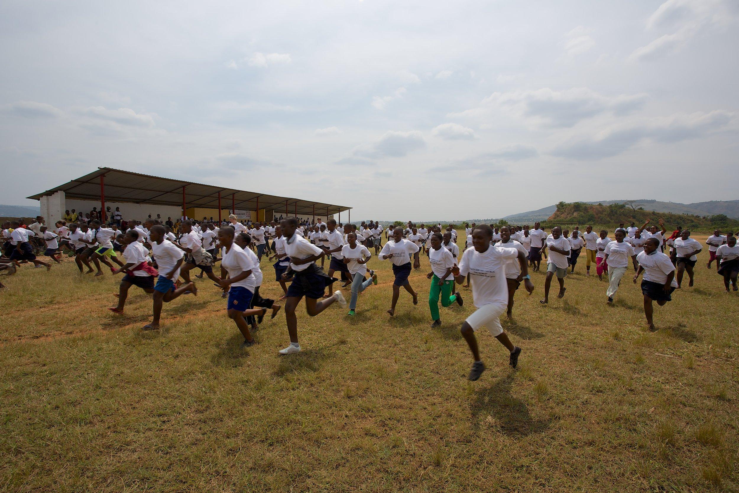 Rotary run for Rwanda -
