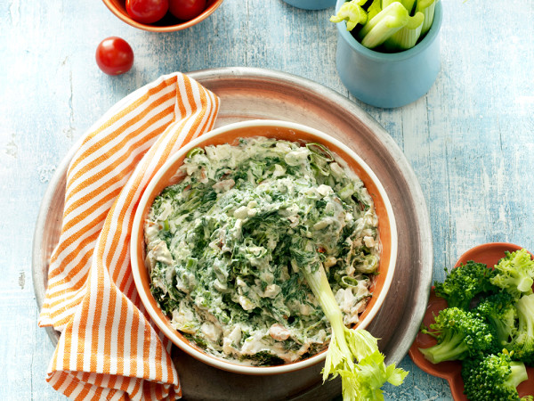 Light Spinach Dip (click pic for recipe)