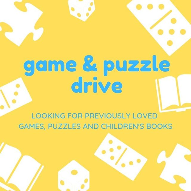Do you have any previously loved board games, puzzles or children's books for students ages 5-9 you aren't using? We're doing a game and puzzle drive - our grand and little buddies would be so grateful to use them during our programs! . DM us or email at whenigrowyoung@outlook.com (in our bio) to arrange for pick up!