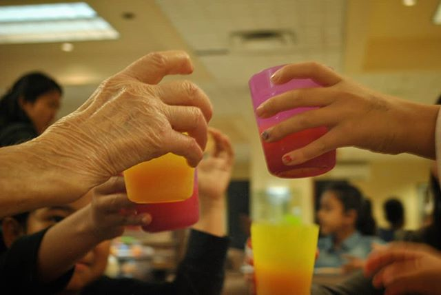 Today is National Seniors Day! We'd like to raise a glass of juice to all the incredible seniors in our programs. Thank you for sharing your stories, wisdom, gifts and smiles with us - we are so grateful for you! . Reach out to a senior in your life today and tell them how much you appreciate them!
