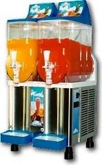 Single and 2 flavor frozen drink machine.
