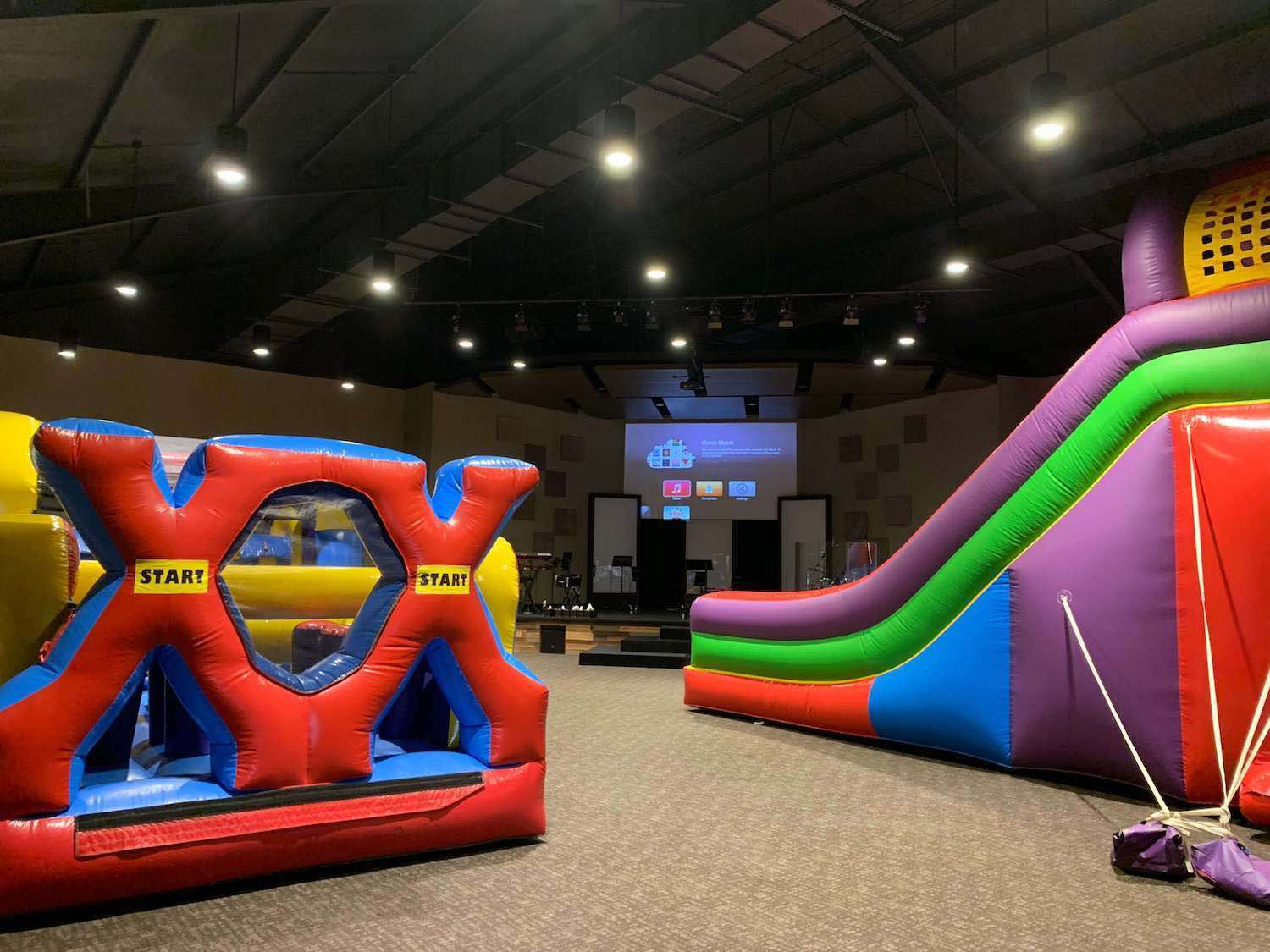 Indoor inflatables