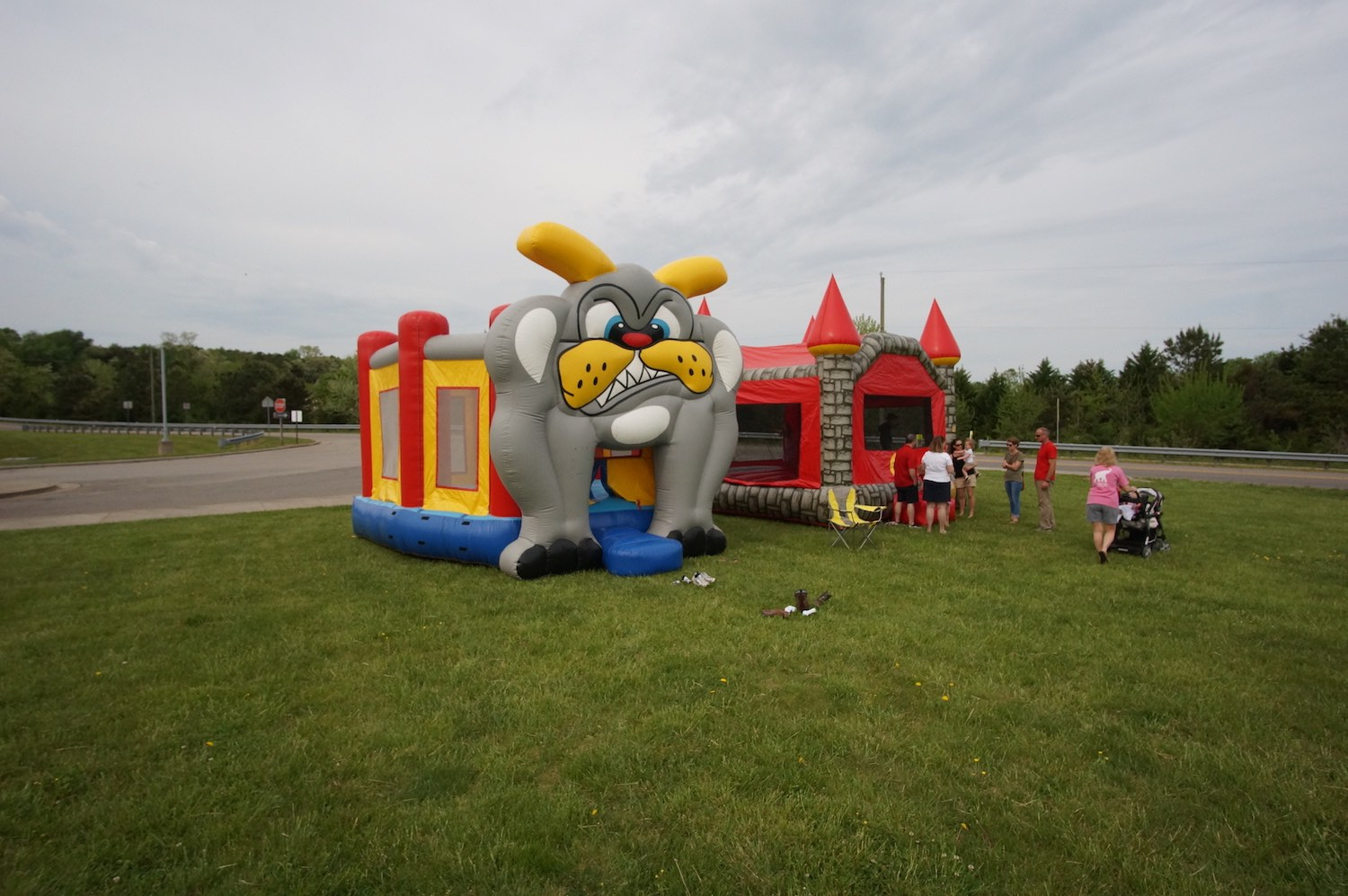 Bulldog Bounce and Castle
