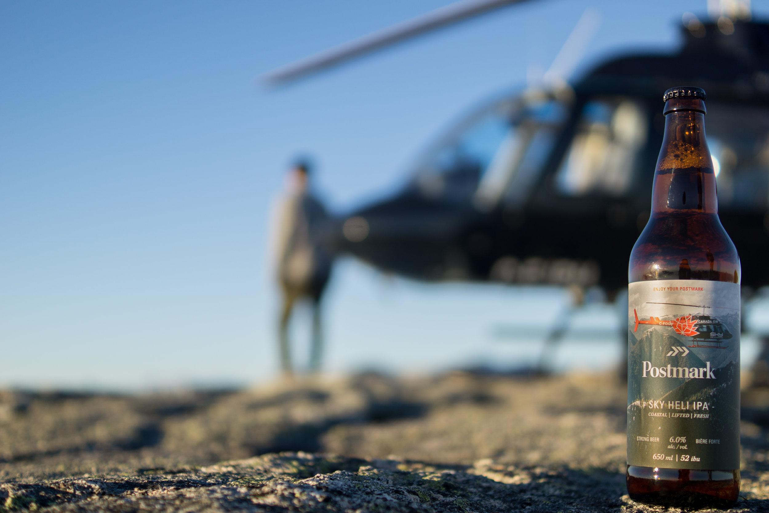 SKY HELICOPTERS - SKY Heli IPA   650ml bottle